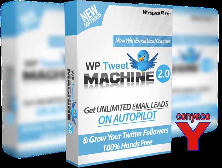 WP TweetMachine V2 Review Bonos – Captura Ilimitados Emails de Twitter y Consigue Más Seguidores de Twitter en Piloto Automático
